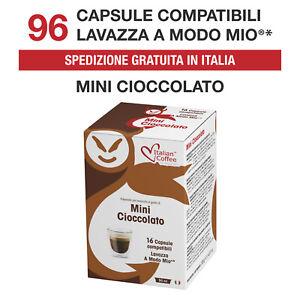 96-Cialde-Capsule-Cioccolato-Cioccolata-compatibili-Lavazza-A-Modo-Mio