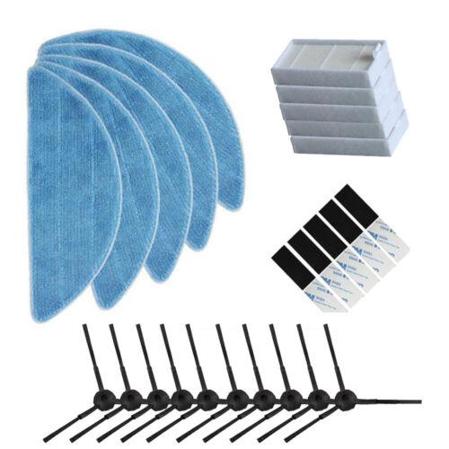 25pcs//lot filter side brush mop pads magic paste For ilife V3 V5 V3s V5s Pro V50