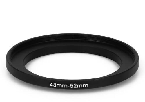 52 mm Filter Adapter Step-Up Adapter Filteradapter Step Up 43-52 43 mm