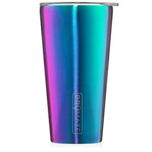 NEW Brumate Imperial Pint 20 oz Stainless Drink Bar ONYX LEOPARD