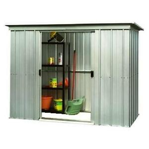878-Customer-Returned-Yardmaster-Pent-Metal-Shed-Max-Size-6ft-6in-x-3ft-11in