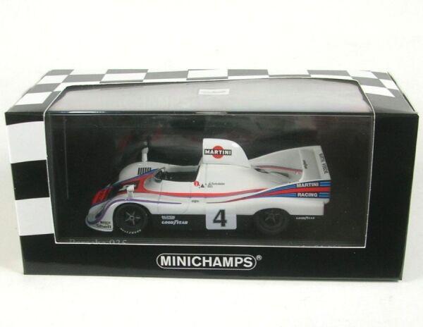 Porsche 935 76 no. 4 MARTINI RACING WINNER COPA FLORIO FERGUSA 1976 (Dimensions
