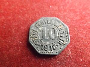 * Notgeld Stadt Leutenberg T.h 10 Pfennig 1918 (schub 34)