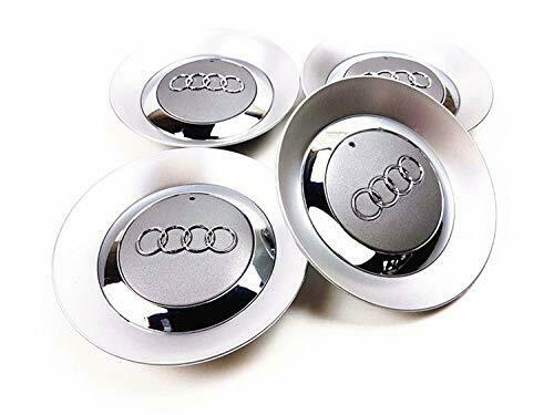 SET 5 5mm Gray Wheel Center Hub Cap 5E5 for Audi A5 B5 B5 15INCH 5  SPOKE