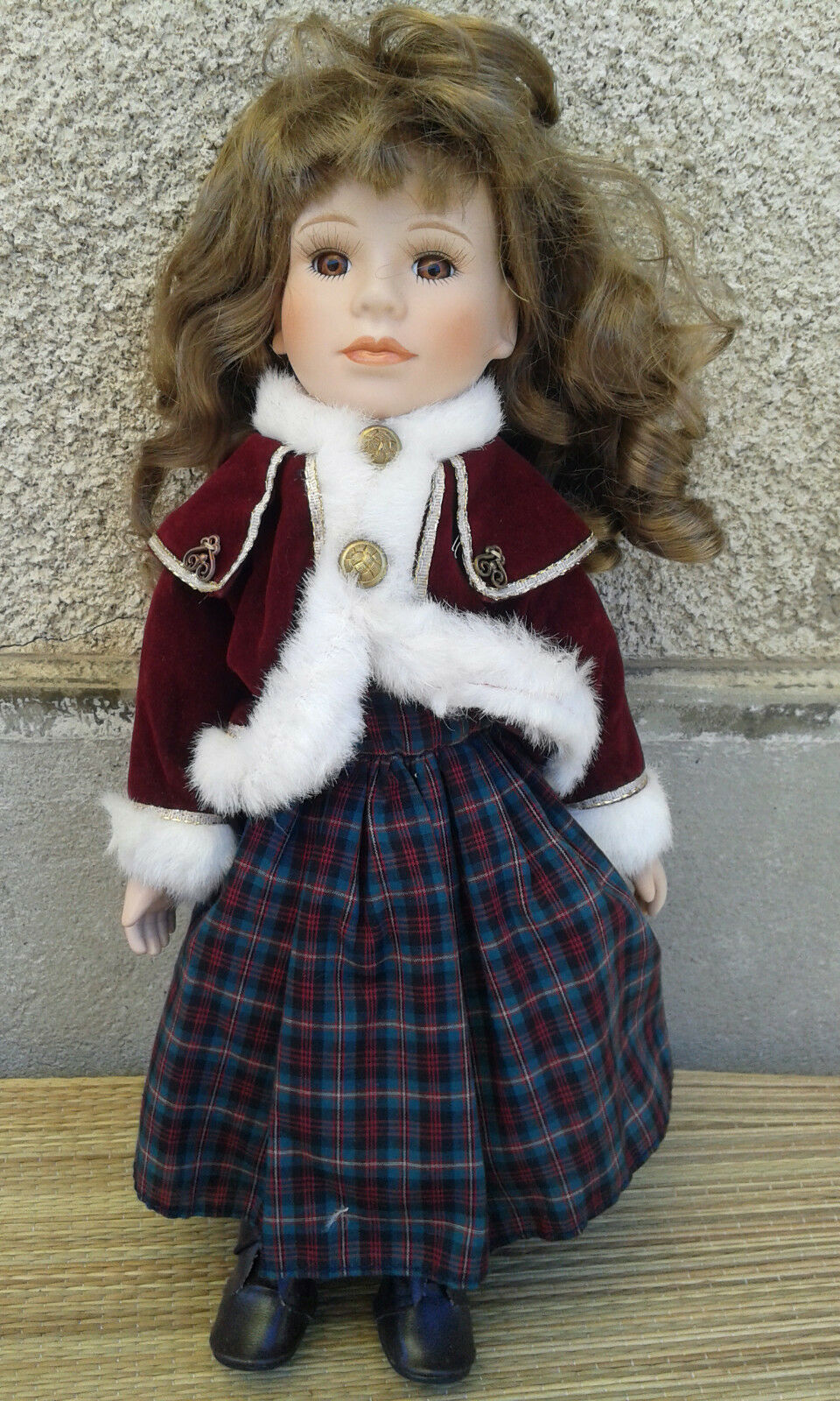 Doll porcelain, toy, collection, old porcelan doll doll doll f05144