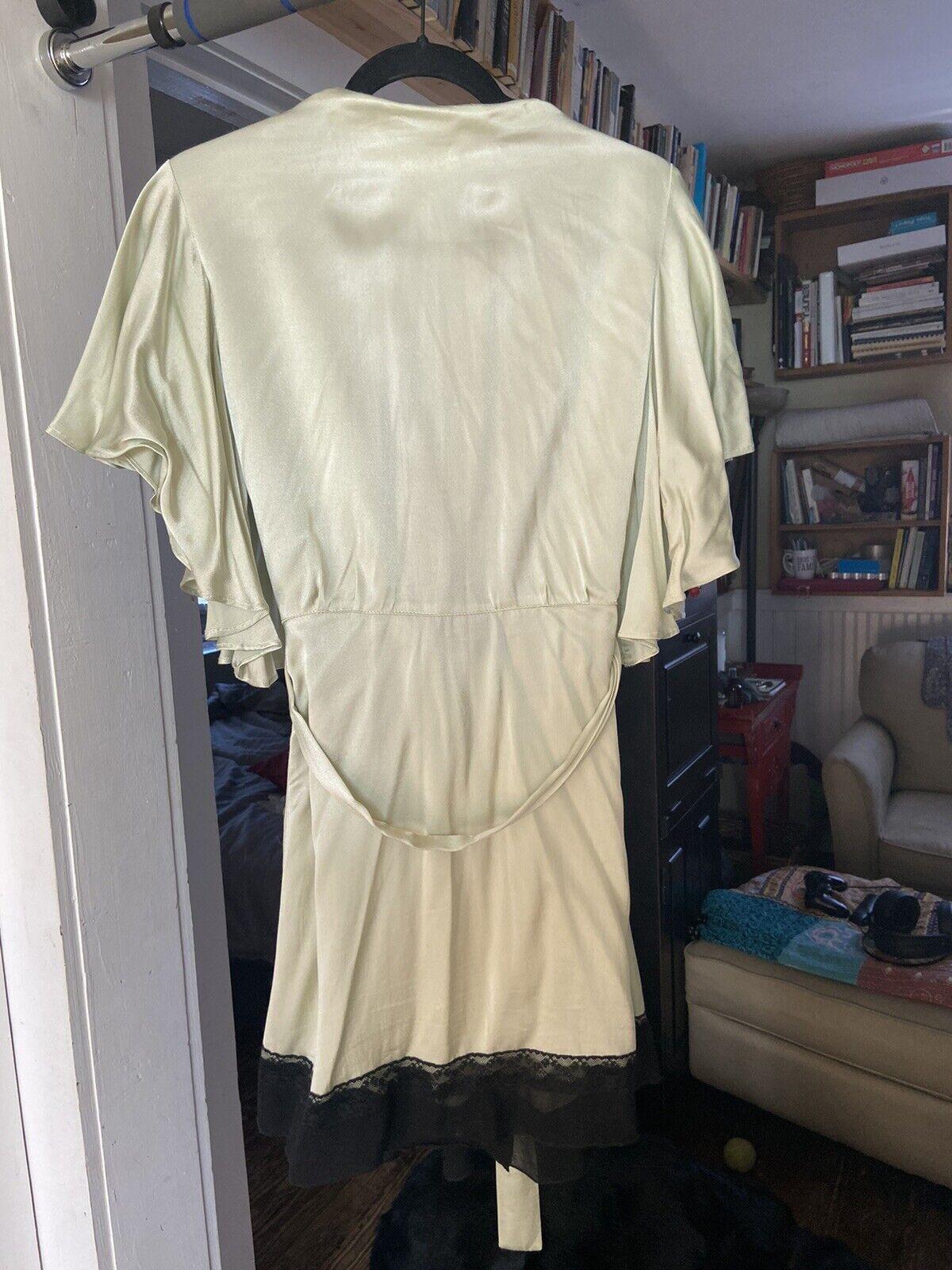 Trashy Diva Pin-Up Robe Size S - image 3