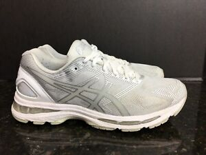 check out c7956 78913 Details about Asics T700N-9693 Men's Gel Nimbus 19 Glacier White Running  Shoes Size 9 #3