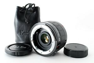 Kenko Teleplus PRO 300 AF DG 2x Lens For Canon w/bag from Japan [EXC+++++] PL19