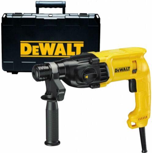 Set of Chisels /& Chuck /& Adapter Dewalt D25033 240v SDS Hammer Drill 3 Mode
