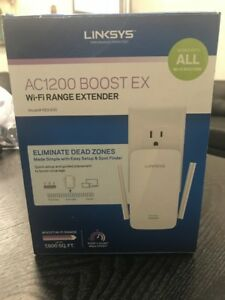 Details about Linksys RE6700 (AC1200) Amplify Dual-Band Wi-Fi Range  Extender IN original box