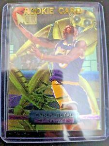 1996-97-Fleer-Metal-NBA-Kobe-Bryant-Cyber-Metal-Insert-Card-5-of-20