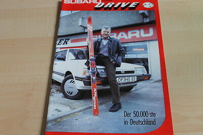 Drive Magazin 01/1987 Neueste Technik 124976 Subaru