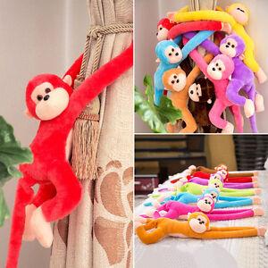Colorful-Long-Arm-Monkey-Hanging-Soft-Plush-Doll-Stuffed-Animal-Kids-Baby-Toy-Y1