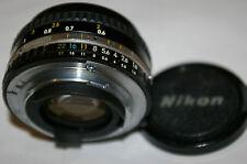 GENUINE ORIGINAL Nikon BRAND 50mm F1.8 AUTO NIKON E AIS LENS with METAL MOUNT