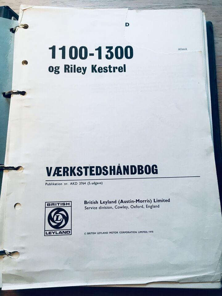 Værkstedshåndbog, Austin-Morris 1100-1300 og Riley