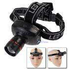 5W CREE LED Headlamp Flashlight Zoomable Headlight Head Torch Lamp Light AAA UP