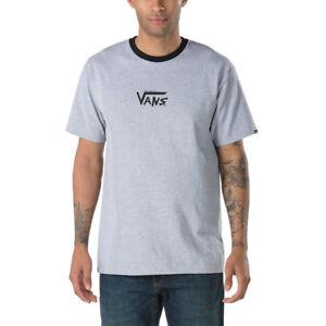 Vans-I-WANT-VANS-RINGER-Mens-Short-Sleeve-T-Shirt-Medium-Athletic-Grey-NEW-2018