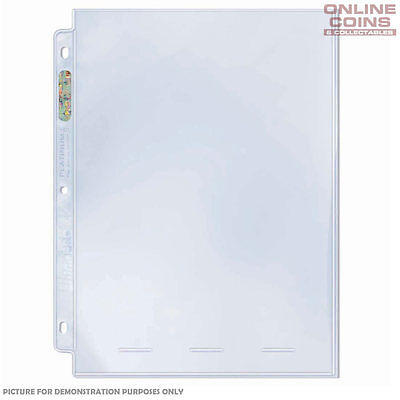 ULTRA PRO 1 POCKET PLATINUM SERIES 10 x PAGES 8/'/'x10/'/' SLEEVES PHOTO COMIC