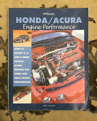 Building Honda Acura K Series Engine Performance Guide Book 2002-2007 Dyno Tests