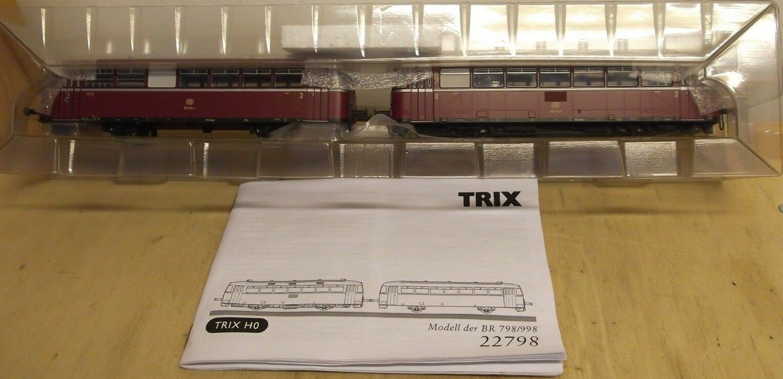 Trix h0 22798 railbus br 798 & 998 db digital & sound in blistervp