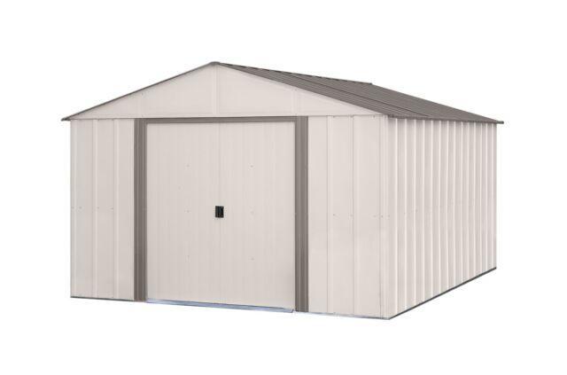 10 Ft W X 12 D Metal Storage Shed