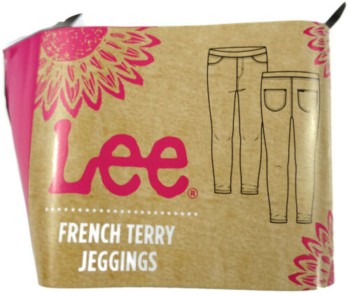 Lee Girls Leggings French Terry Variety Sizes and colors Lot of 3 Pair