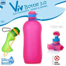 Viv Bottle 3.0 - Faltbare Trinkflasche - Pink 1500 ml