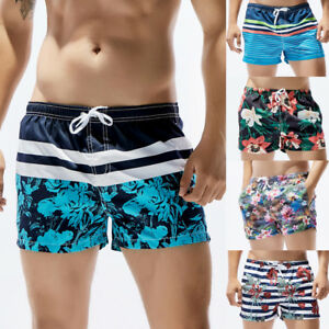 c2e5524ecc Fashion Men's Swim Trunks Beach Shorts Quick Dry Swimwear Bathing ...