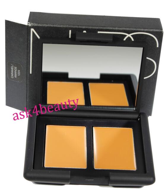 Nars Duo Concealer (Shade Caramel/Amande 1224) 0.14oz/4g New In Box