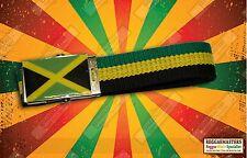 JAMAICA FLAG BLACK YELLOW GREEN BELT ROOTS REGGAE ONE LOVE