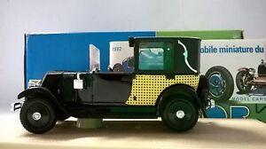 ELIGOR-1-43-AUTO-DIE-CAST-RENAULT-KZ-1928-TAXI-PARISIEN-LOUAGE-NERO-1042-A