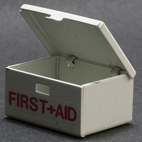 Dollhouse Miniatures 1:12 Scale First Aid Kit #MUL2510