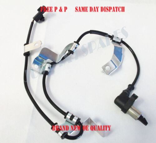 For Mitsubishi L200 Pick Up 2.5/2.8/3.0 Front ABS Speed Sensor L/H 1996-05/2002