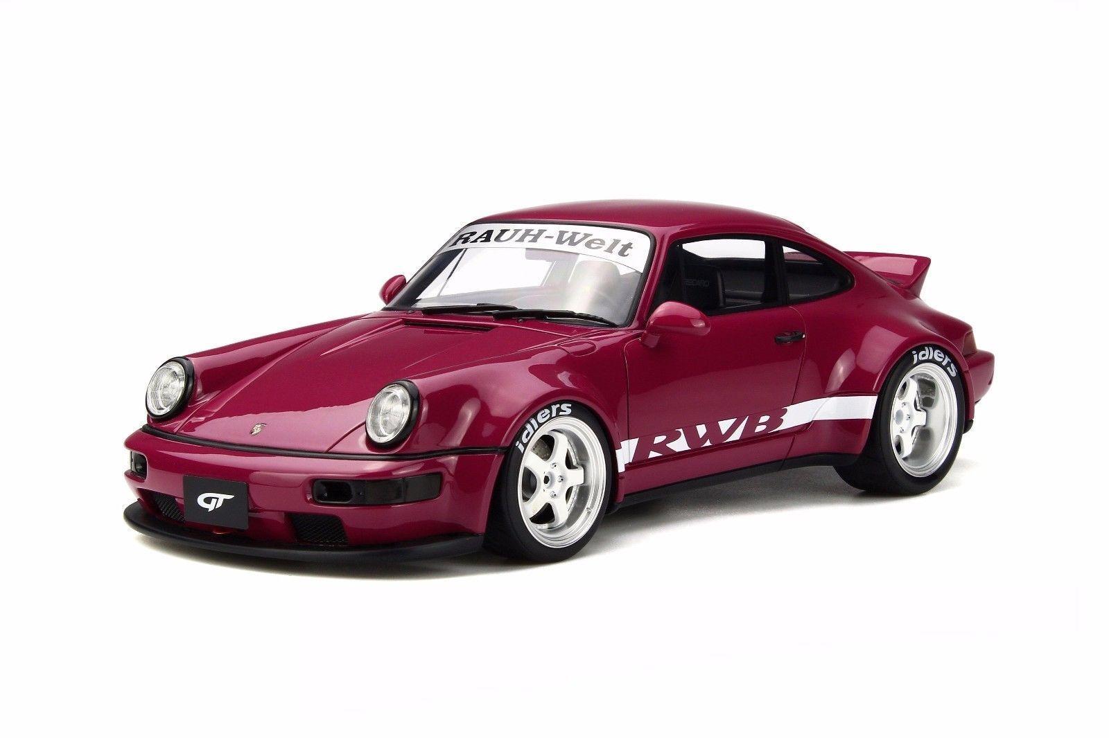 Porsche RWB 964 Cola De Pato púrpura 1 18 Modelo De Coche GT Spirit para Kyosho KJ016