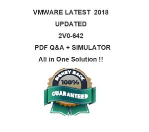 VMware 2V0-642 VCA6-NV Exam Dump  Test PDF /& Sim