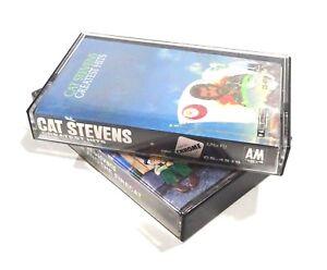 lot-of-2-Cat-Stevens-Music-Cassette-Tapes-Greatest-Hits-Teaser-and-the-Firecat