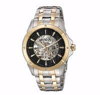 Bulova Men's 98A146 Automatic Black Skeleton Dial Watch
