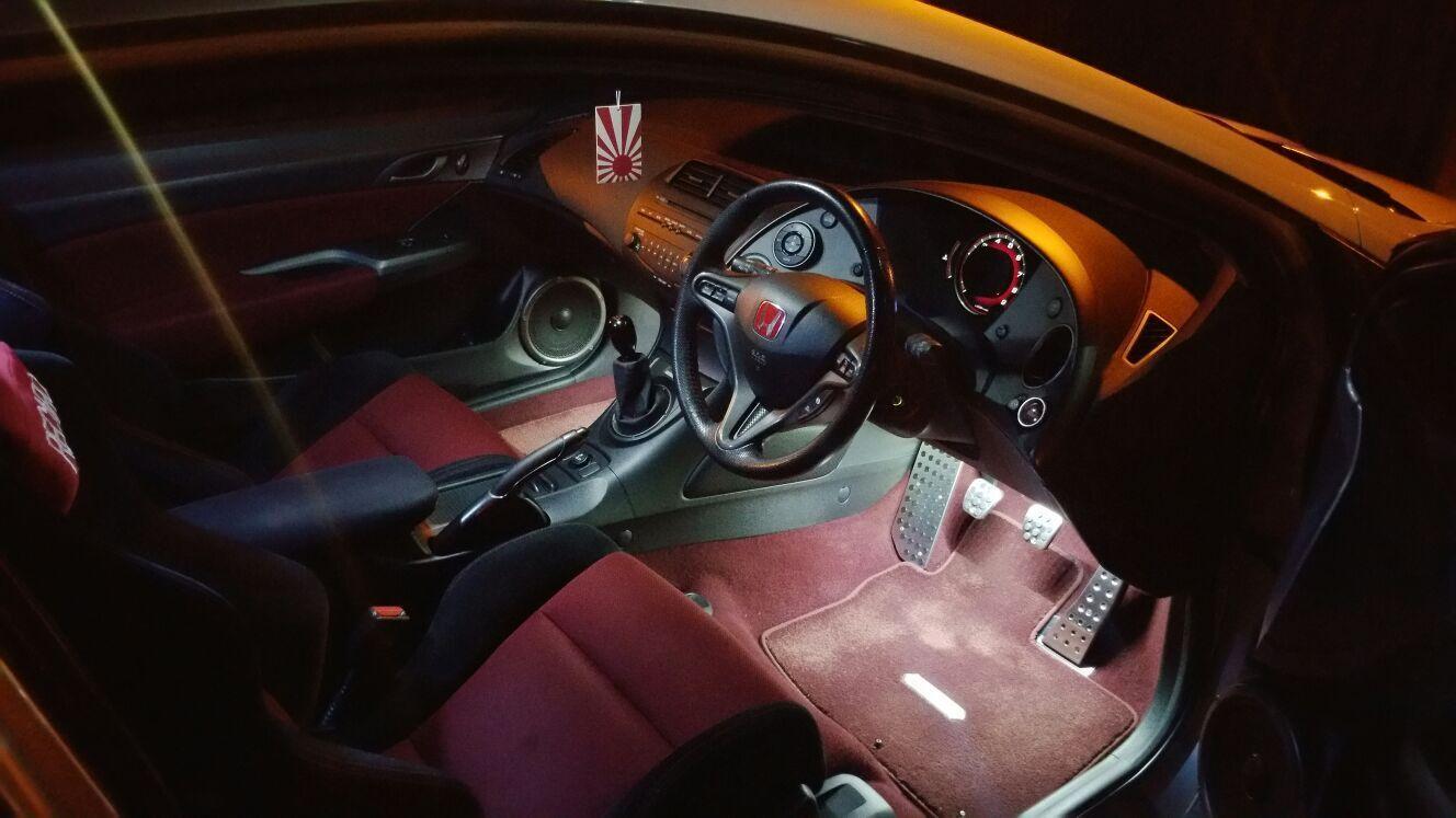 Mugen Honda Civic 8th Generation FN2 Type R Interior Footwell LED Lighting Kits
