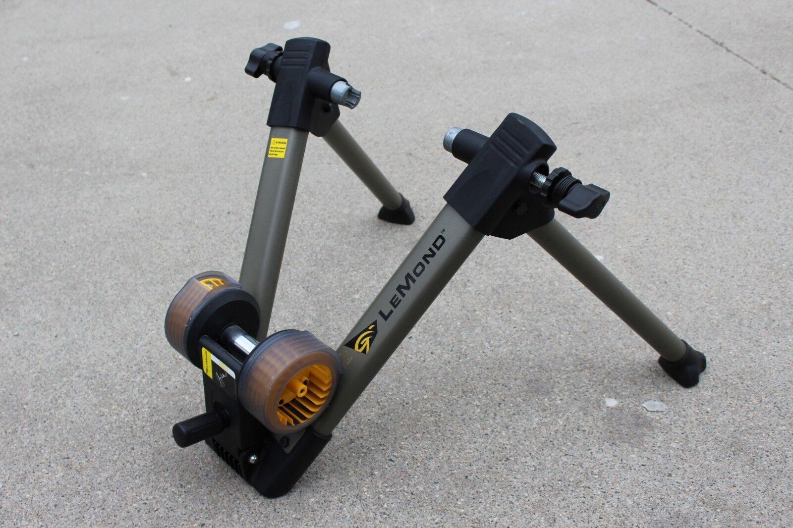 Greg LeMond Wind Pro Trainer estacionario Fitness Soporte Bicicleta de Montaña Bici Bicicleta