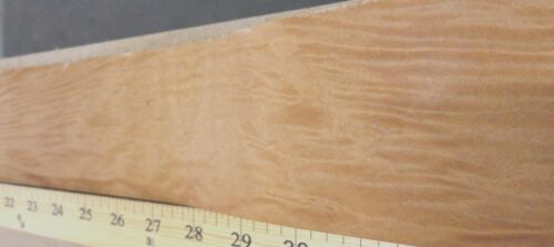 "Maple Burl wood veneer edgebanding 2.5/"" x 12/"" on paper backer no adhesive roll"