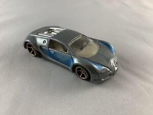 HOT-Wheels-Bugatti-Veyron-piu-velocemente-che-mai-da-Collezione-Diecast-scala-1-64