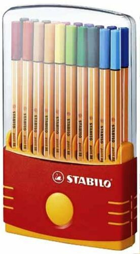 STABILO Fineliner point 88 ColorParade Box mit 20 Stiften