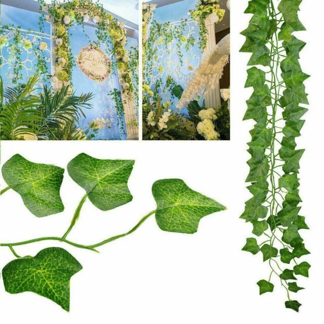 Ivy Artificial Flower Vine Wall Hanging Simulation Lavender Plants Garland