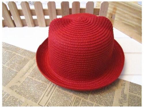 Infant Baby Kids Boy Girls Hat Cap Children Breathable Hat Straw Sun Hats Best