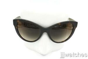 a1a115421f6c Burberry Cat Eye Matte Brown Tortoise Havana Women Sunglasses BE4220 ...