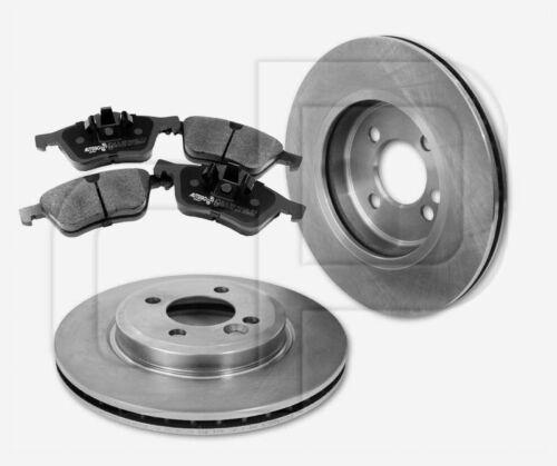 4 Bremsbeläge MINI vorneVorderachse 276 mm belüftet 2 Bremsscheiben