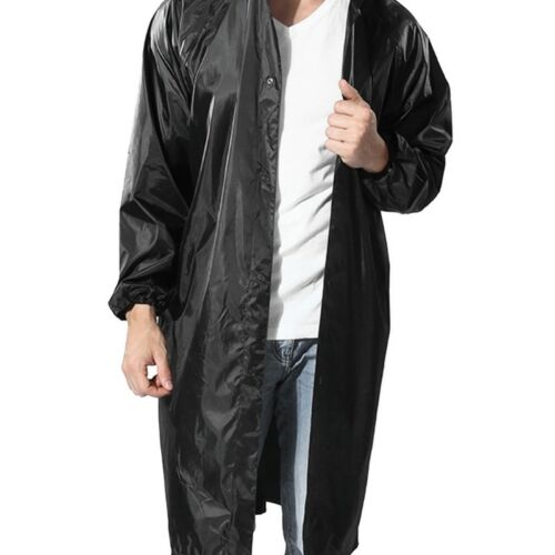 Cycling Hiking Hooded Raincoats Outdoor Reusable Long Rain Jacket Poncho  Unisex