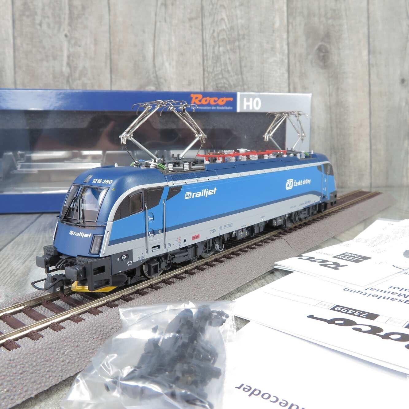 ROCO 73499 - H0 - E-Lok - ÖBB railjet 1216 250-1 - Digital+Sound - OVP -  Z23872