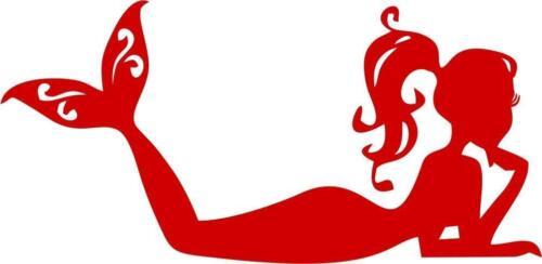 Mermaid vinyl sticker for skateboard luggage laptop tumblers car k