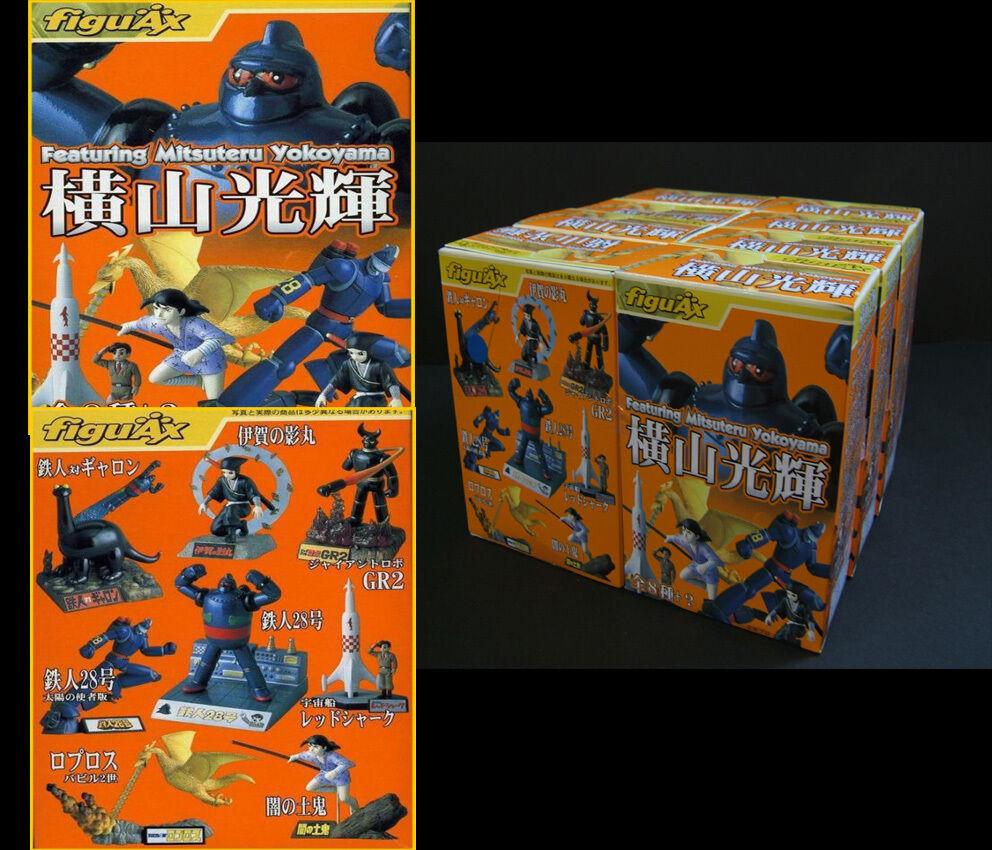 FiguAx Tetsujin 28 featuring Mitsuteru Yokoyama Figure complète Set (8 pieces)